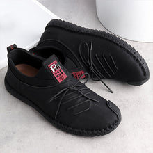 Load image into Gallery viewer, Large Size Men Soft Sole Slip-on Casual Flat Shoes