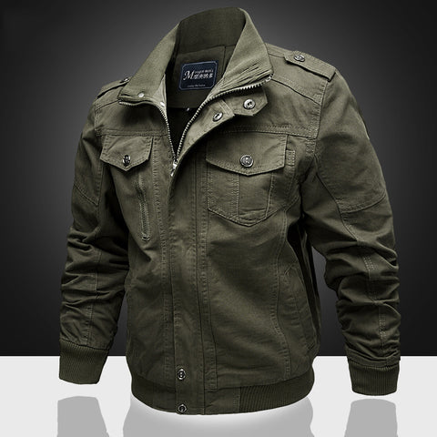 Men's Cotton Casual Jacket Coat