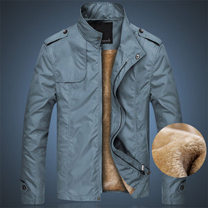 Loose Fashion Zipper Stand Collar Plush Jackets