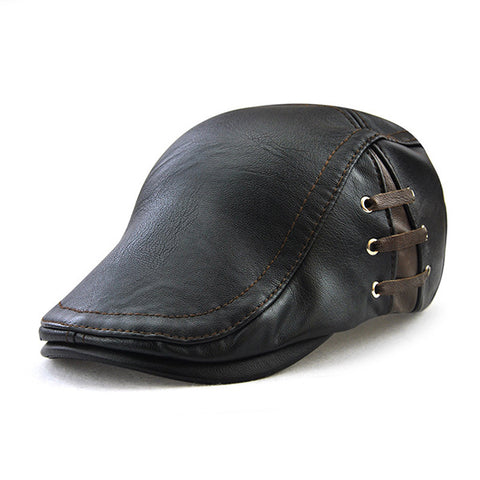 Mens Fashion Peaked Cap Outdoor Beret Cap