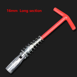 16/21mm Automotive Spark Plug T-wrench Removal Installation Tool