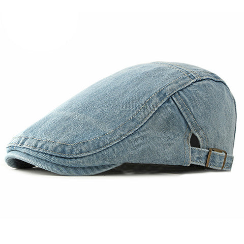 Adjustable Newsboy Cabbie Casual Beret Cap