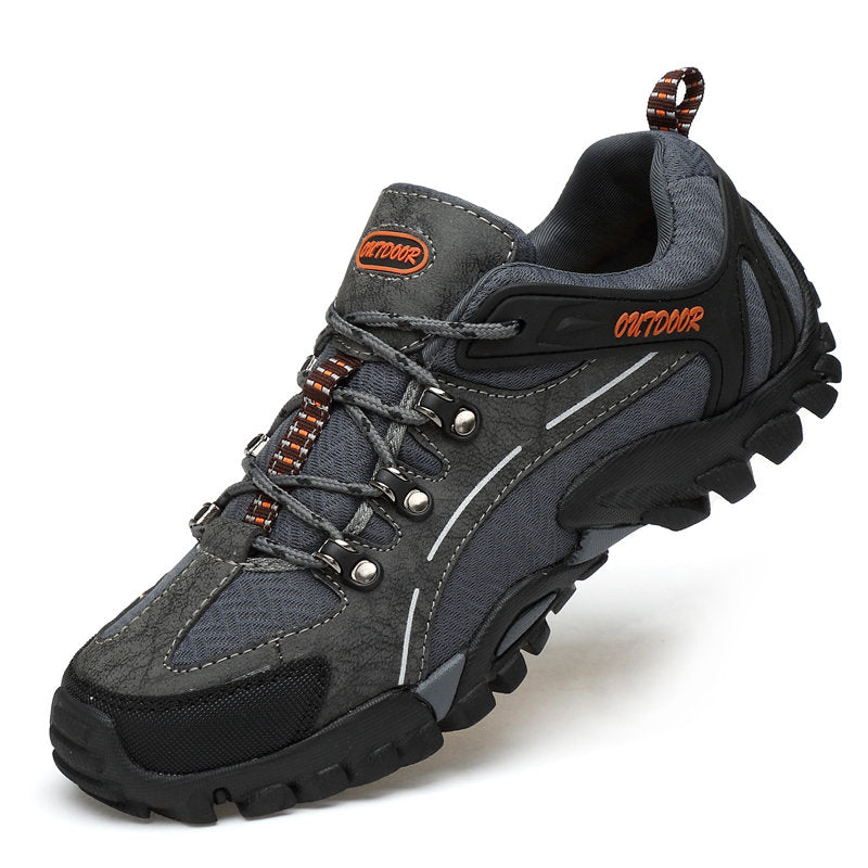 Mens Anti-collision Slip Resistant Soft Sole Casual Hiking Sneakers