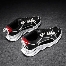 Load image into Gallery viewer, Fashion Color Block Lace-up Running Shoes Outdoor Sports Athletic Shoes