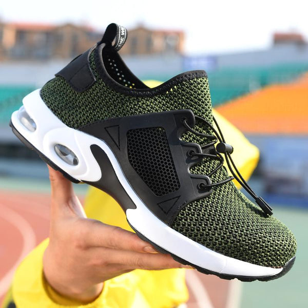 Safe Breathable Flexible Air Cushion Sneakers