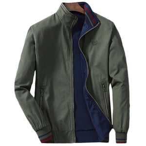 Double-sided Standing Collar Men's Jackets