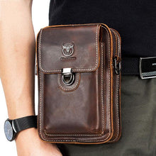 Load image into Gallery viewer, Retro Fashion Zipper Men Crossbody Bags