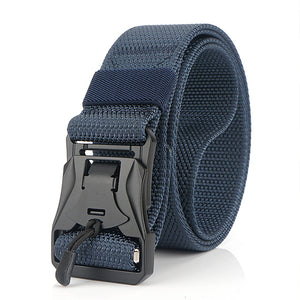 Mens Nylon Military Belt Quick Release Buckle Belt