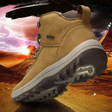 Load image into Gallery viewer, Men's Outdoor Trekking Hiking Waterproof Anti-skid Mountain Climbing Sports Winter Shoes