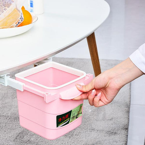 Household Retractable Storage Bin
