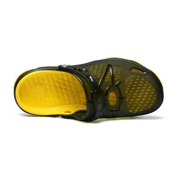 Fashion Summer Men Odourless Breathable Beach Slippers