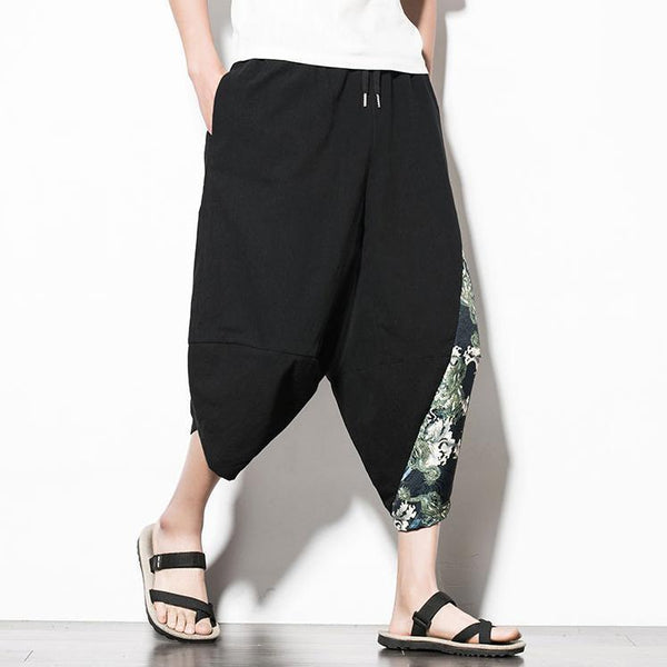 Casual Printed Capri Cropped Pant