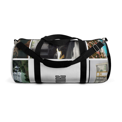 """ The World "" Duffel Bag"