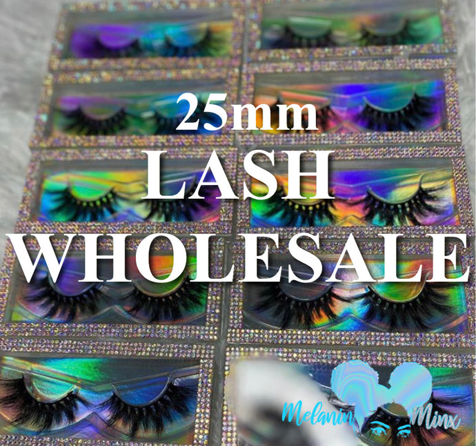 Wholesale Mink Lashes (25mm)