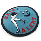 'Skirt Alert' Embroidered (Patch)