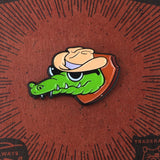 'Cool Gator' Lapel (Pin)