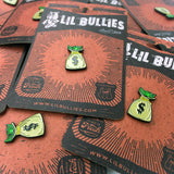 'Money Bag' Lapel Pin - Lil Bullies   - 3