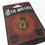 'Money Bag' Lapel Pin - Lil Bullies   - 6