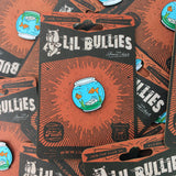 'Sleep with the Fishes' Lapel Pin - Lil Bullies   - 4