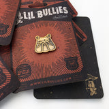 'Antique Bulldog' Lapel Pin - Lil Bullies   - 5