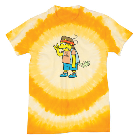 'Willie Nelson' T-Shirt (Tie-Dye) *420 Exclusive*