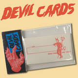 'Devil Calling' Cards (13 Pack)