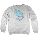 'Blue Dream' Crewneck Sweatshirt (Heather Grey)