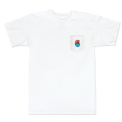'B.I.G. Papa' Pocket T-Shirt (White)