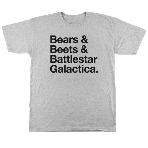 'Bears' T-Shirt (Heather Grey)