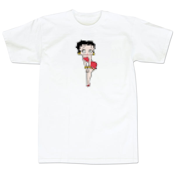 '8Bit Betty' T-Shirt (White)