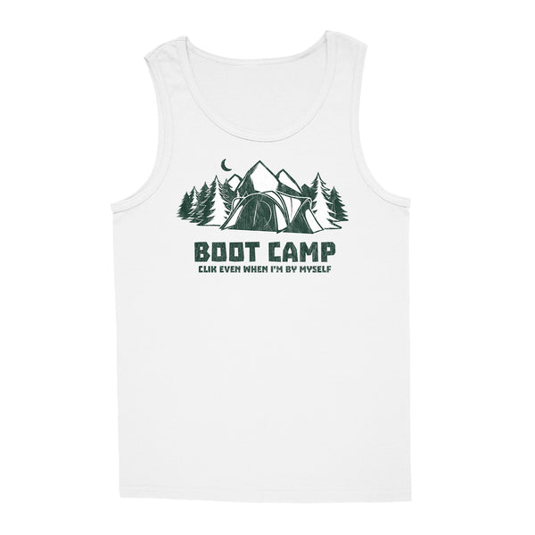 'Boot Camp' Tank-Top (White)