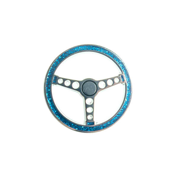 'Lowrider Wheel' Lapel (Pin)