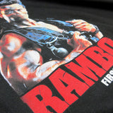 'Rambo' T-Shirt (Black)
