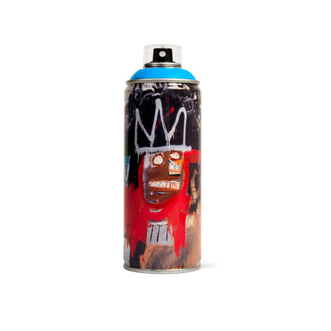 'Jean-Michel Basquiat Special Edition *Argo Blue* (Spray Can)