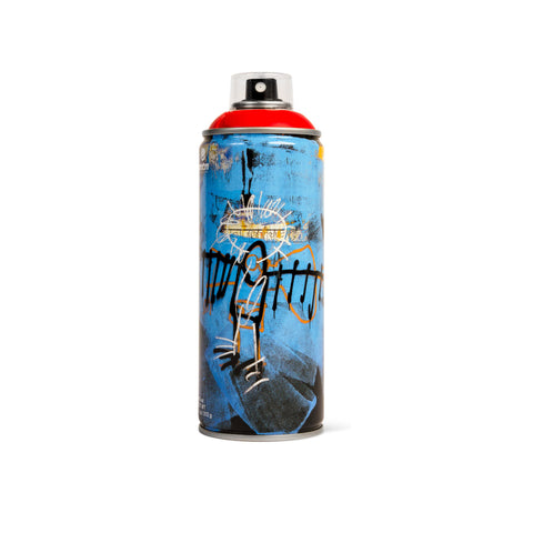'Jean-Michel Basquiat Special Edition *Light Red* (Spray Can)