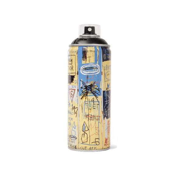 'Jean-Michel Basquiat Special Edition' *Matte Black* (Spray Can)