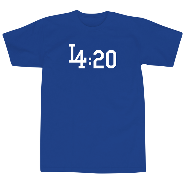 'All Day Everyday' T-Shirt (Royal Blue)