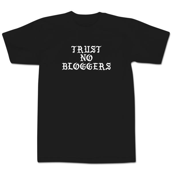 'Blogs' T-Shirt (Black)