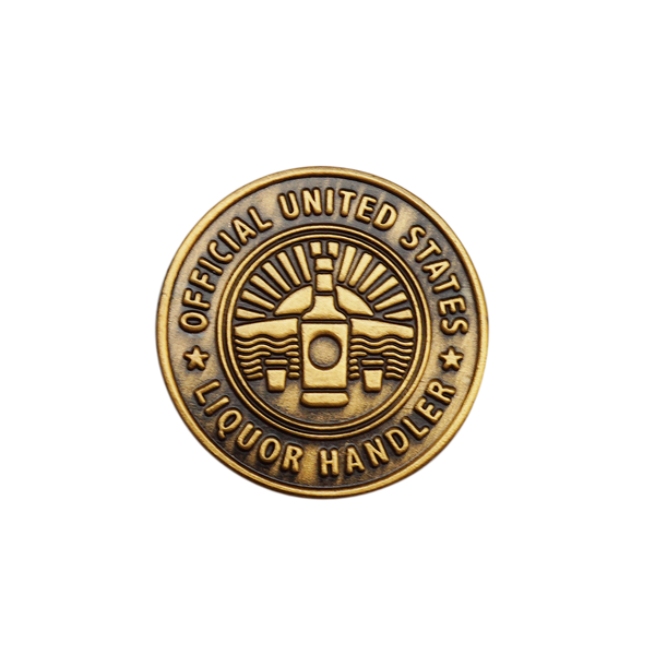 'Official U.S Liquor Handler' Lapel (Pin)