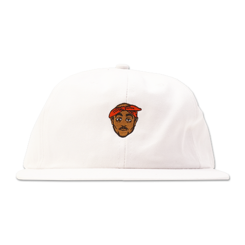 'All Eyez On Me' StrapBack Hat (White)