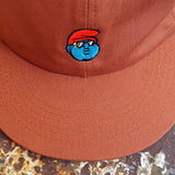 'B.I.G. Papa' StrapBack Hat (Burnt Orange)