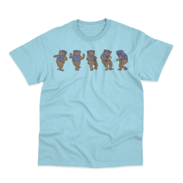 'C-Wok' T-Shirt (Light Blue)