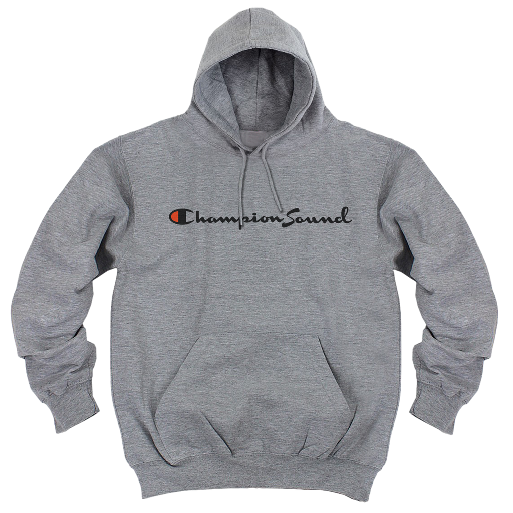 Champion Sound Hoodie (Heather Grey)
