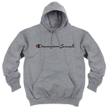 'Champion Sound' Hoodie (Heather Grey)