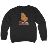 'Chicken Head' Crewneck Sweatshirt (Black)