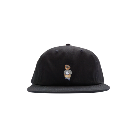 'Cholo Bear' StrapBack Hat (Black)