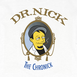 'The Chronick' Crew Neck Sweatshirt (White)