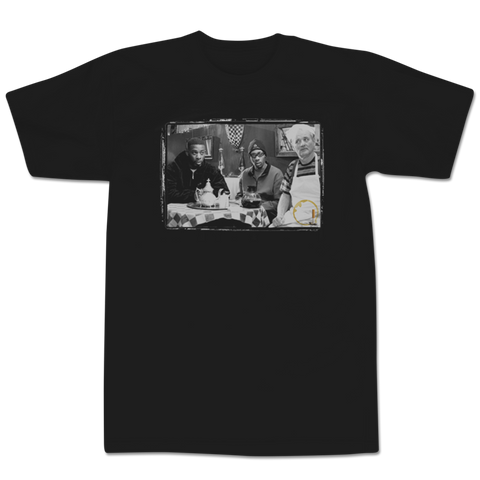'Coffee & Cigarettes' T-Shirt (Black)