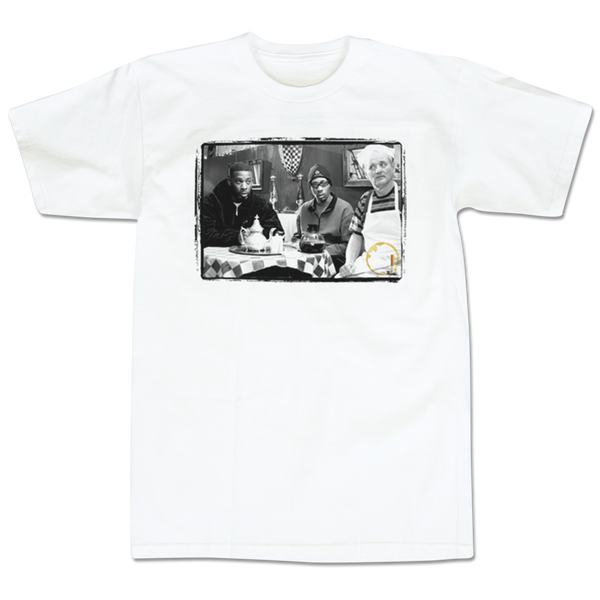 'Coffee & Cigarettes' T-Shirt (White)