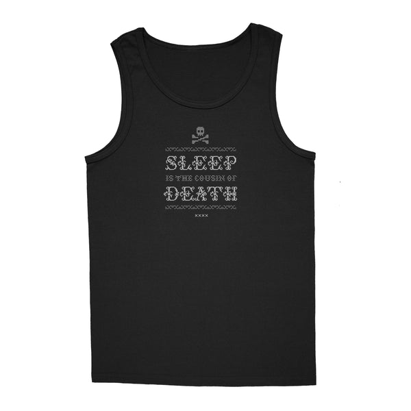 'Never Sleep' Tank-Top (Black)